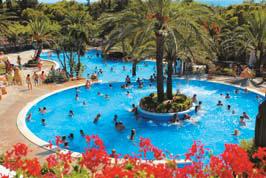 Park Playa Bara, Tarragona,Costa Dorada,Spain