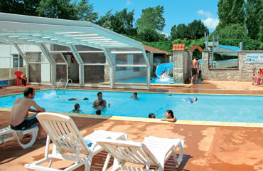Camping la Bien Assise, Guines,Picardy,France