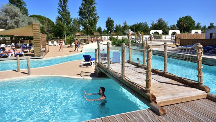 Le Mediterranee Plage Camping Village, Vias Plage,Languedoc Roussillon,France