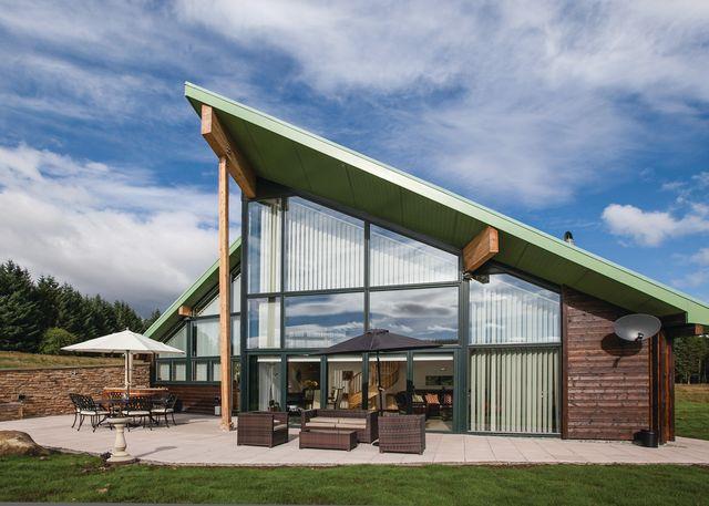 Straker Lodges, Kielder Water,Northumberland,England
