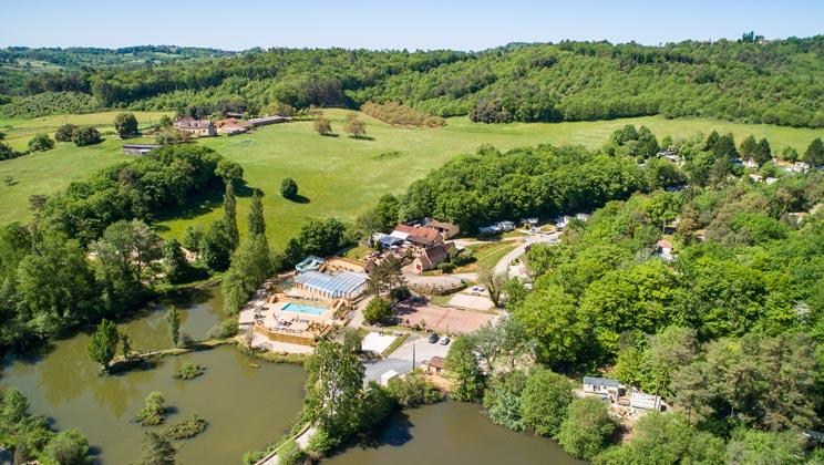 Le Val dUssel Campsite, Proissans,Limousin,France