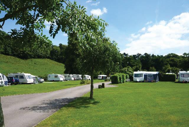 Glencote Caravan Park, Leek,Staffordshire,England