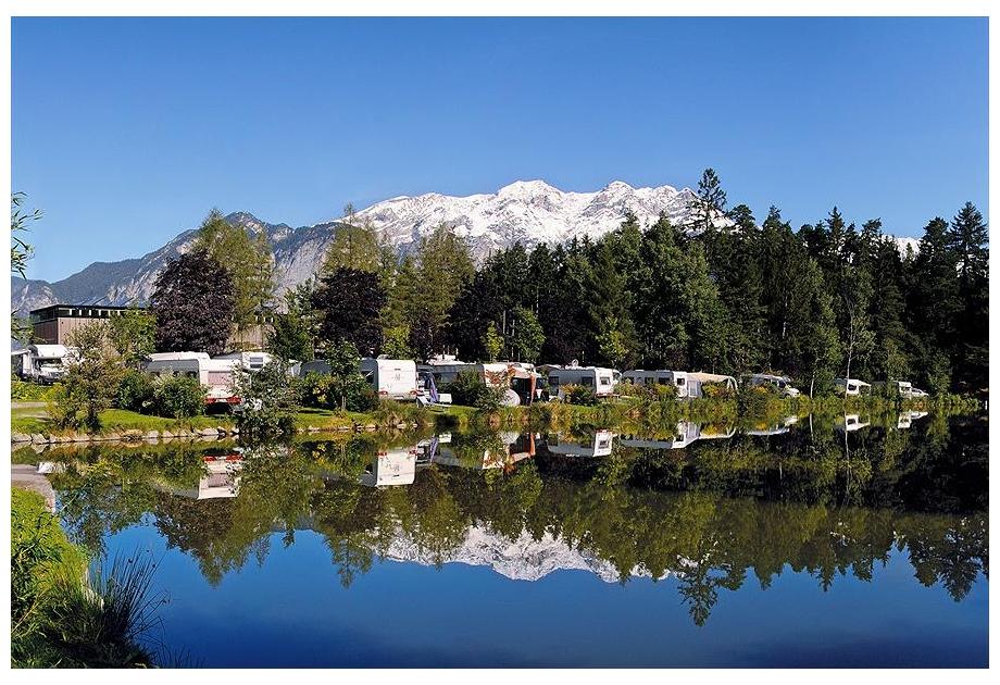Campsite Ferienparadies Natterer See, Natters,Tyrol,Austria