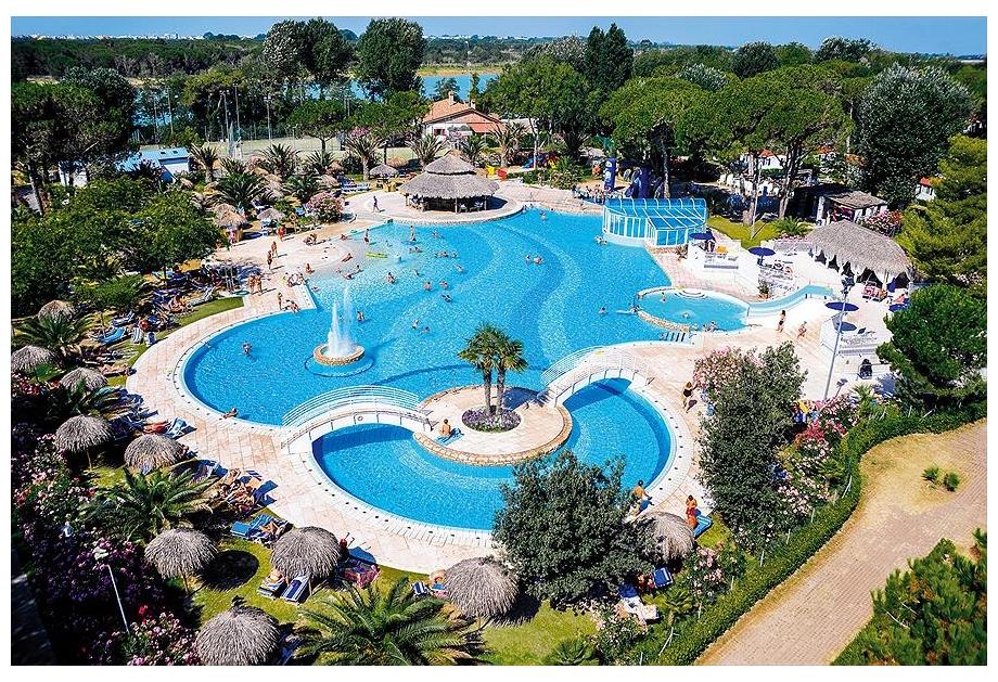 Camping Village Pino Mare, Lignano Sabbiadoro,Adriatic Coast,Italy