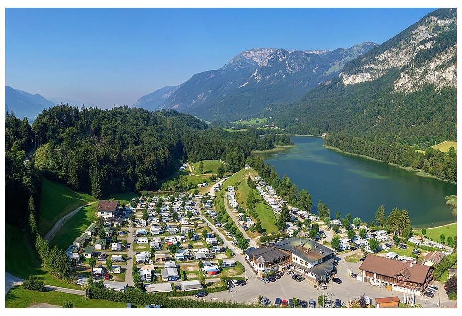 Camping Seeblick Toni, Kramsach,Tyrol,Austria